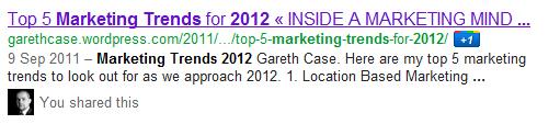 Google+ Gareth Case
