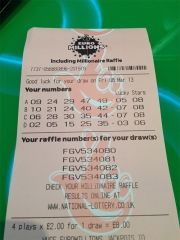 Gareth Case Lottery Ticket